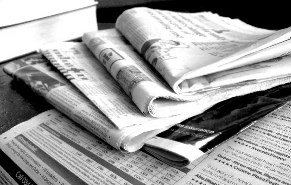 survival uses for newspapers